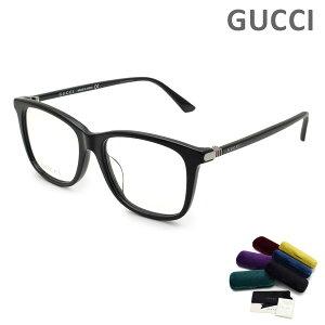 グッチ メガネ 眼鏡 フレーム のみ GG0018OA-001 ブラック アジアンフィット メンズ GUCCI 【送料無料(※北海道・沖縄は1,000円)】