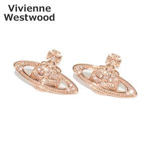 ヴィヴィアンウエストウッド ピアス 62020033 G120 MINI BAS RELIEF EARRINGS ピンクゴールド アクセサリー レディース Vivienne Westwood 【送料無料(※北海道・沖縄は1,000円)】