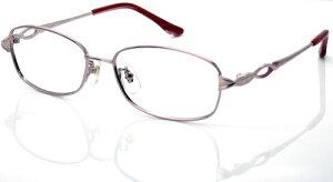 チタンピンク・パソコンシニアグラス[全額返金保証]・日本製PC老眼鏡・パソコン用メガネ 老眼・パソコンメガネ老眼鏡・ブルーライトカット老眼鏡・PCメガネ老眼鏡