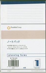 FRANKLINCOVEY フランクリンコウ゛ィー システム手帳リフィル フランクリン専用¥コンパクト バイブル (6穴) ノートパッド スケジュール帳 手帳のタイムキーパー