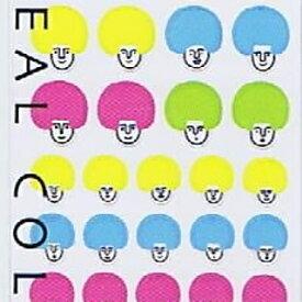 DESINPHIL・MIDORI デザインフィル・ミドリ シール ・ シ-ル3007 アフロ柄 スケジュール帳 手帳のタイムキーパー