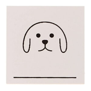 DELFONICS デルフォニックス スタンプ ・ ウッドスタンプアイコン D 犬 イヌ ドッグ スタンプ台 オーダー キャラクター かわいい 手帳 印鑑 ハンコ 2020 スケジュール帳 手帳のタイムキーパー