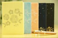 スケジュール帳ORANGEAIRLINESオレンジエアライン2017年4月始まり手帳月間式(月間ブロック)A6マンスリー2017マンスリーキャラクター可愛いデザイン文具手帳のタイムキーパー