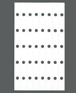 ASHFORD アシュフォード システム手帳リフィル マイクロ5(5穴) 補強シール M5(マイクロ5穴) 財布 システム手帳 リフィル 手帳カバー 革 デザイン文具 スケジュール帳 手帳のタイムキーパー