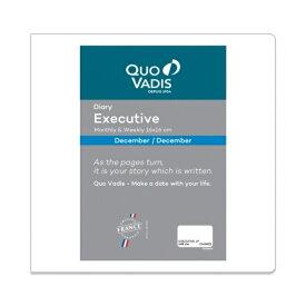 QUOVADIS クオバディス 2020年1月始まり(2019年12月始まり) 手帳 週間バーティカル式(週間バーチカル) クオバディス(エクゼクティブ)正方形 エグゼクティブ レフィルPE 小物 大人かわいい おしゃれ 可愛い スヌーピー ディズニー スケジュー