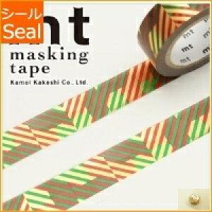 MT エムティ シール マスキングテープ ・ クリスマス2016 クリスマス・チェック マスキングテープ かわいい おしゃれ 幅広 無地 黒 海外 スケジュール帳 手帳のタイムキーパー
