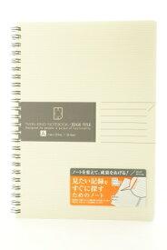 KOKUYO コクヨ ノート A5 ツインリング エッジタイトル A5A罫 スケジュール帳 手帳のタイムキーパー