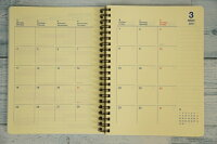 DELFONICSデルフォニックス13年2月始まり(2013年4月始まり対応)とじ手帳月間式(月間ブロック)A5サイズロルバーンダイアリーA5【楽ギフ_包装】【スケジュール帳・手帳のタイムキーパー】