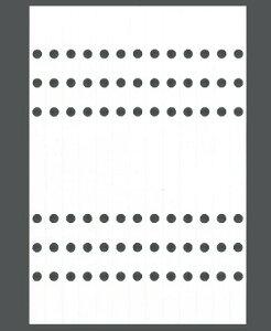 ASHFORD アシュフォード システム手帳リフィル A5(6穴) 補強シール A5 財布 システム手帳 リフィル 手帳カバー 革 デザイン文具 スケジュール帳 手帳のタイムキーパー