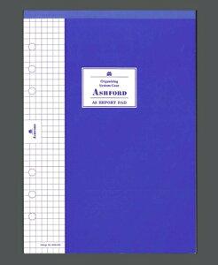 ASHFORD アシュフォード システム手帳リフィル A5(6穴) A5レポートPADセクション A5 財布 システム手帳 リフィル 手帳カバー 革 デザイン文具 スケジュール帳 手帳のタイムキーパー