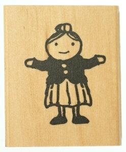 KODOMONOKAO こどものかお スタンプ ・ ピッコロスタンプ 女の子 スタンプ台 オーダー キャラクター かわいい 手帳 印鑑 ハンコ スケジュール帳 手帳のタイムキーパー