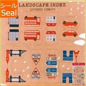ORANGE AIRLINES オレンジエアライン シール ・ Favorite Stickers - Index City スケジュール帳 手帳のタイムキーパー