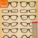 ORANGE AIRLINES オレンジエアライン シール ・ Favorite Stickers -Glasses 眼鏡 メガネ シール帳 福袋 スケジュール…