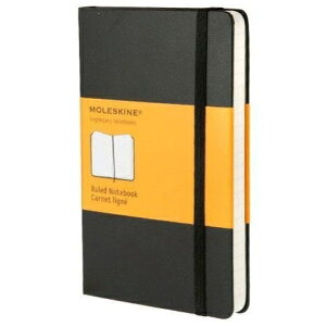 【10%OFF・期間限定】 MOLESKINE モレスキン(モールスキン) ノート A6 ルールド ノートブック 横罫 ポケット 連絡帳 自由帳 方眼 横罫 a5 b5 b6 かわいい スケジュール帳 手帳のタイムキーパー