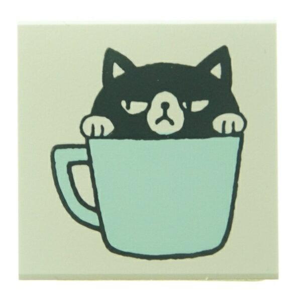 KODOMONOKAO こどものかお スタンプ ・ もりのはんこ イニシャルC 黒猫 スタンプ台 オーダー キャラクター かわいい 手帳 印鑑 ハンコ スケジュール帳 手帳のタイムキーパー