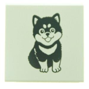 KODOMONOKAO こどものかお スタンプ ・ もりのはんこやさんC 犬 イヌ スタンプ台 オーダー キャラクター かわいい 手帳 印鑑 ハンコ スケジュール帳 手帳のタイムキーパー