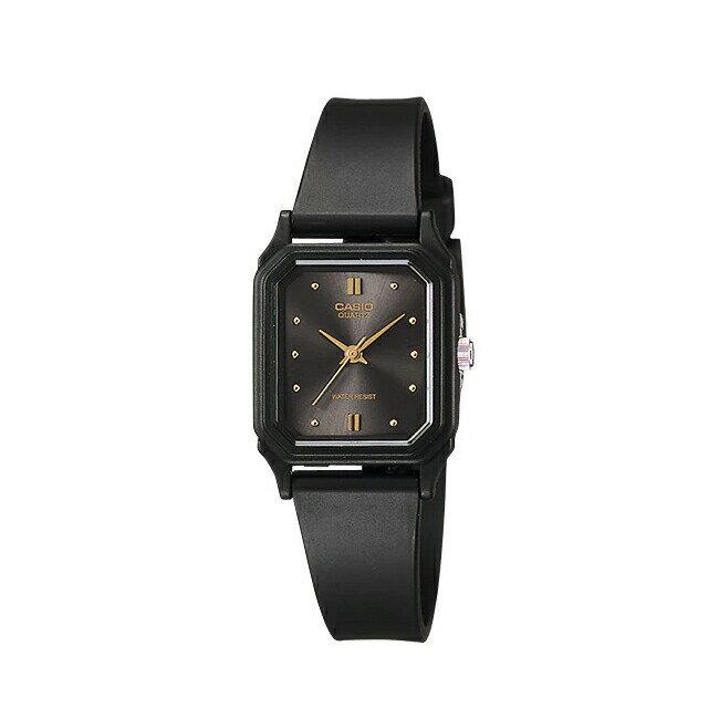 【並行輸入品】CASIO STANDARD ANALOGUE LADYS カシオ スタンダード アナログ レディース LQ-142E-1A 腕時計 チープカシオ チプカシ プチプラ ブラック 黒