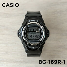【並行輸入品】【10年保証】【日本未発売】CASIO BABY-G カシオ ベビーG BG-169R-1 腕時計 時計 ブランド レディース キッズ 子供 女の子 デジタル 日付 カレンダー 防水 ブラック 黒 海外モデル 送料無料