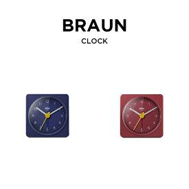 【並行輸入品】BRAUN ブラウン アラーム クロック BC02X 時計 置き時計 目覚まし時計 トラベル 旅行 携帯 小型 アナログ ブラック 黒 ホワイト 白 BC02XB BC02XW