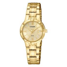 【並行輸入品】【10年保証】CITIZEN シチズン クオーツ EU6022-54P 腕時計 レディース 逆輸入 アナログ ゴールド 金 海外モデル