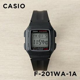 【10年保証 送料無料】CASIO カシオ スタンダード F-201WA-1A 腕時計 メンズ レディース キッズ 子供 男の子 女の子 チープカシオ チプカシ デジタル 日付 ブラック 黒 海外モデル