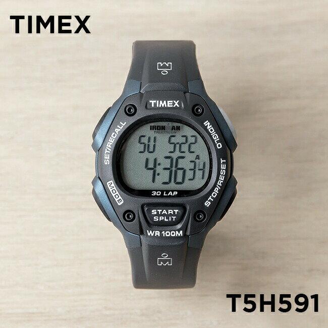 【並行輸入品】TIMEX IRONMAN CLASSIC 30 FULL-SIZE タイメックス アイアンマン クラシック 30 メンズ T5H591 腕時計 ランニングウォッチ ブラック 黒 ネイビー