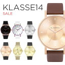 【並行輸入品】KLASSE14 SALE クラス14 セール 腕時計 メンズ レディース ブラウン 茶 ローズゴールド ブラック 黒 シ…