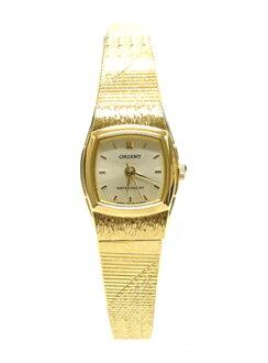 未發行的東方石英女士東方石英女式 FUBLR001C 手錶手錶金日本
