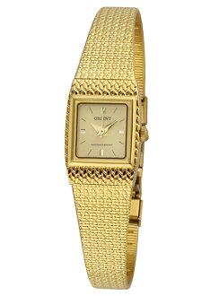 未發行的東方石英女士東方石英女式 FUBLL003G 手錶手錶金日本
