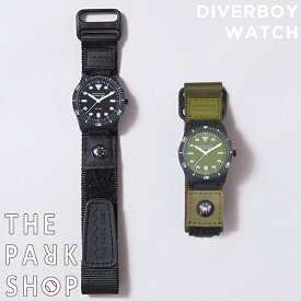 e6d16115f3 THE PARK SHOP WATER RESISTANT DIVERBOY WATCH ザ パークショップ ウォーターレジスタント ダイバーボーイ  ウォッチ