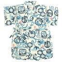 甚平 ロンパース 赤ちゃん ベビー 男の子 綿100% 日本製生地 竹富士柄 カバーオール 甚平グレコ 部屋着 寝まき パジャマ 70cm 80cm☆全11色
