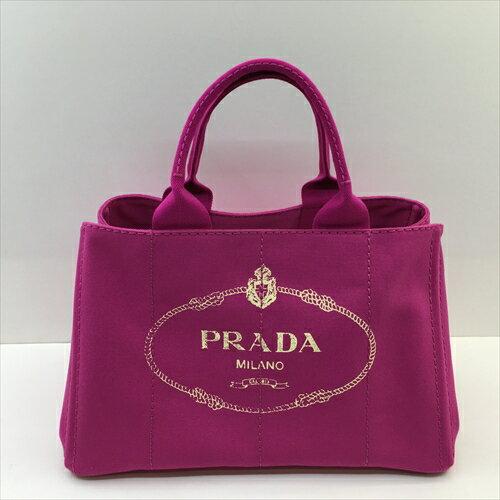 【和泉中央店】PRADA プラダ カナパトートMM 【中古】 BN1877 フーシャピンク