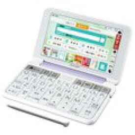 SHARP カラー電子辞書(音声対応/タイプライターキー配列) PW-SH6-V