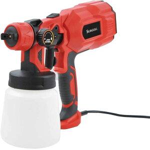 マリン商事 スプレーガン 噴射量調節可能 EI-90387 塗装スプレー 噴射量調節可能 電源コード3m 選べる噴射パターン 電動ペンキ塗り DIY どんな素材にも塗装OK