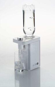 ペットボトル瞬湯器 ぱッ湯 (パッ湯)ペットボトル瞬間湯沸かし器 ホットウォーターサーバー ID5100(シルバー)