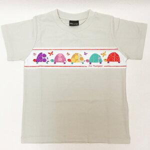 ジムトンプソン◇子供Tシャツ(ライトグレー/カメ)◇2歳・3歳用