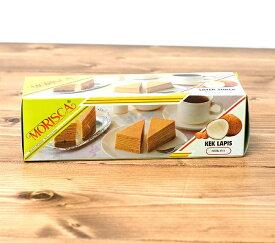 レイヤーケーキ ココナッツ(スリカヤ風味) 【MORISCA】 / インドネシア お菓子 MORISKA(モリスカ) エスニック料理 ココナッツオイル アジアン食品 エスニック食材