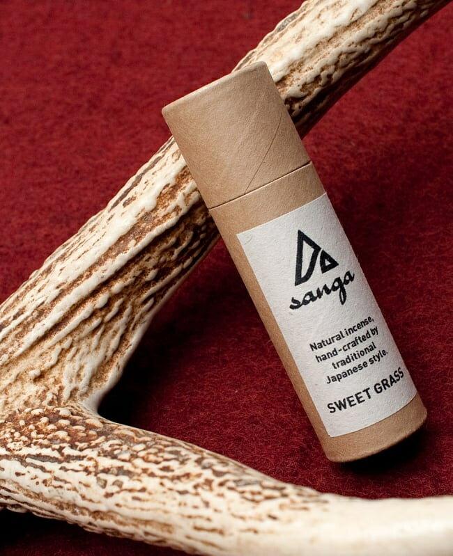 SWEET GRASS香 sanga / SANGA ナチュラル お香 自然素材 レビューでタイカレープレゼント あす楽