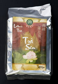 蓮茶 (蓮花茶) 茶葉タイプ 100g 【KUKU】 / ベトナム料理 KUKU(クク) ベトナム食品 ベトナム食材 アジアン食品 エスニック食材