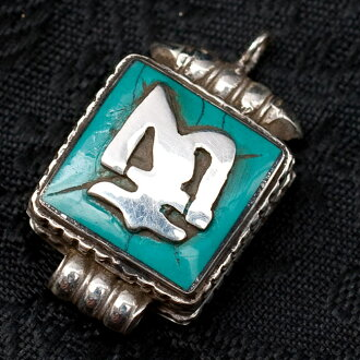 Tirakita rakuten global market 925 silver india handmade 925 silver india handmade turquoise pendant on ethnic asian accessories anklet piercing ring bindis rough stone cord necklaces nepal mozeypictures Image collections