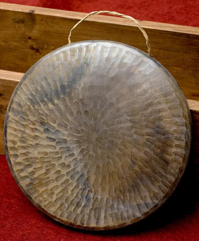 ベトナムのゴング(銅鑼)24cm / ドラ 鐘 シンバル 送料無料 レビューでタイカレープレゼント あす楽