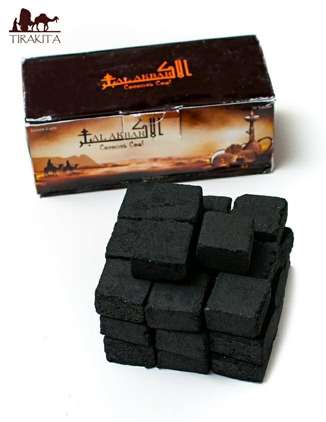 シーシャの炭 COCONUT COAL 30個入り / あす楽