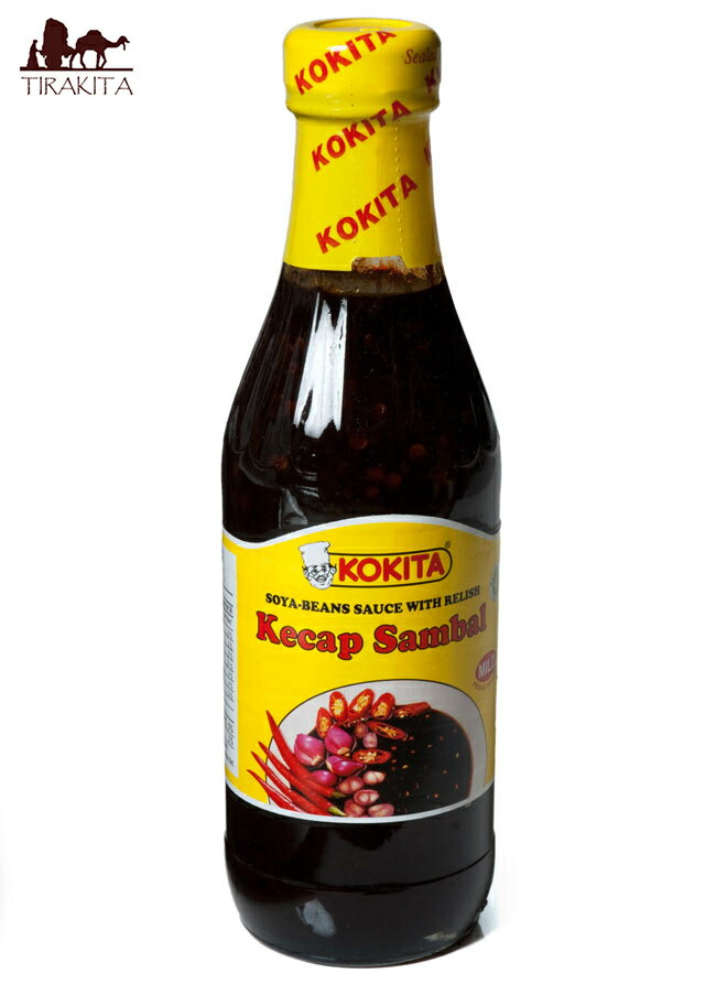 ケチャップ サンバル マイルド Kecap Sambal Mild シーズニング醤油 【Kokita】 / インドネシア料理 バリ ケチャップマニス レビューでタイカレープレゼント あす楽