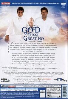 God Tussi Great Ho DVD | 喜劇印度電影連續劇2008 CD藍光