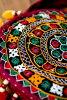 卡奇刺绣 ポ 轮 | 亚洲大麻黄麻和包袋民族镜子工作印度拉贾斯坦