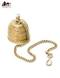 【送料無料】 寺院の鐘【5.5cm】 / ベル アジアン インド 風鈴 エスニック 雑貨