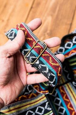 ジッパータイプ ネパール織り布のヨガマットバッグ / ショルダー エスニック レビューでタイカレープレゼント あす楽