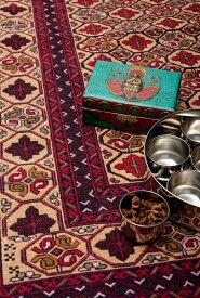 【送料無料】 アフガニスタン・トライバルキリム ウール100% / 絨毯 手織り アジアン インテリア エスニック