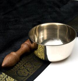 【送料無料】 高音質シンプルシンギングボウル 10.5cm / シンギングボール Singing Bowl 仏教 楽器 瞑想 民族楽器 インド楽器 エスニック楽器 ヒーリング楽器
