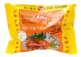 ベトナム フォー (袋) 【A One】 エビとカニ味 / ベトナム料理 インスタント麺 One(エーワン) ベトナム食品 ベトナム食材 アジアン食品 エスニック食材